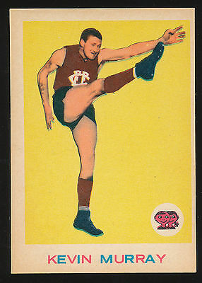 1964 Scanlens No. 29 Kevin Murray Fitzroy Lions near MINT card r