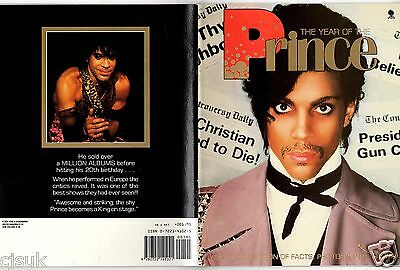 PRINCE The Year Of The Prince Collection of Facts Photos & Interviews Book 1984