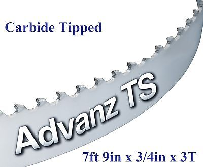 "7' 9"" (93"") x 3/4"" x 3T CARBIDE TIPPED BANDSAW BLADE!"