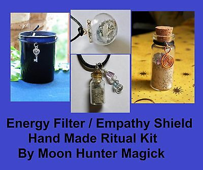Empathy Shield Combo Kit Energy Filter Spell Kit Ritual Pagan Wicca