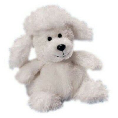 Russ Berrie Luvvies White Poodle Janet, Neu