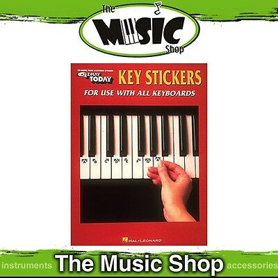 New EZ Play Keyboard Key Stickers Music Tuition Aid - Easy Play E-Z