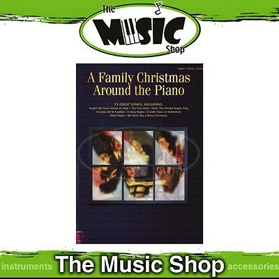 New A Family Christmas Around the Piano PVG Music Book - Piano Vocal Guitar