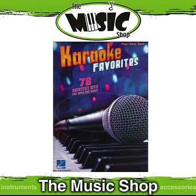 New Karaoke Favourites PVG Music Book - Piano Vocal Guitar