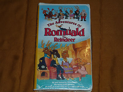 The Adventures of Romuald The Reindeer (VHS, 1998) NEW & SEALED!