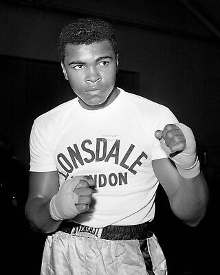 Cassius Clay Trains For 1963 Fight Muhammad Ali - 8X10 Publicity Photo (Zy-169)