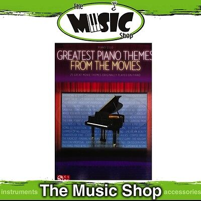 New Greatest Piano Themes From the Movies Music Book - Piano Solo
