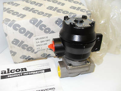 "New Alcon Nacd6Sseexd Stainless Solenoid Valve 3/4""120V  *** New In Box ***"