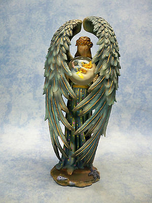 """ KINDRED SPIRIT ANGEL ""  STATUE FIGUR by Sheila Wolk LIMITED EDITION MC3975"