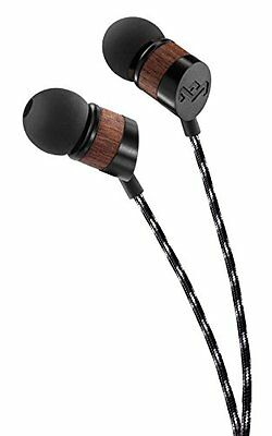 House Of Marley Uplift In Ear Headphones W/ 3 Button Mic Midnight Sound & Vision