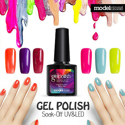 Modelones 10ml Elegant Soak off Color UV Gel Nail Polish LED Long Lasting Summer