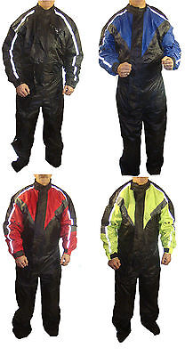 Rksports One Piece Waterproof Motorbike Motorcycle  Full Body Rain Over Suit