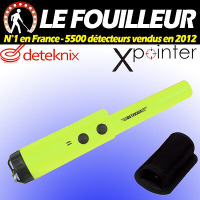 PINPOINTER Induction Pulsée DETEKNIX XPOINTER VERT + holster