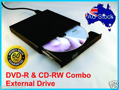 USB 2.0 External IDE DVD ROM CD±RW Burner Writer Drive Portable For Mac Windows