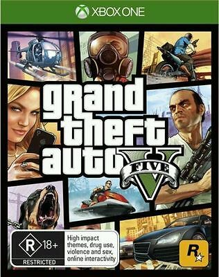 Grand Theft Auto V GTA V 5 Xbox One Game Rockstar Brand New IN STOCK