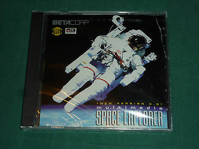 Betacorp Multimedia Space Explorer 3.0 (PC, 1996) NEW!
