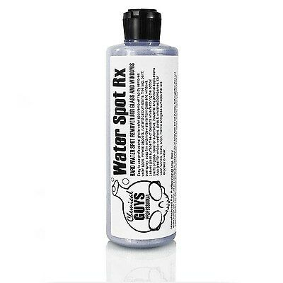 Chemical Guys SPI88616 Water Spot Rx Hard Water Spot Remover for Glass and Wi...