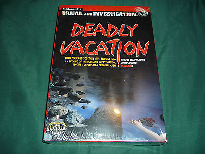 Deadly Vacation- Who is the Paradise Campground Killer? (Gladius) NEW & SEALED!