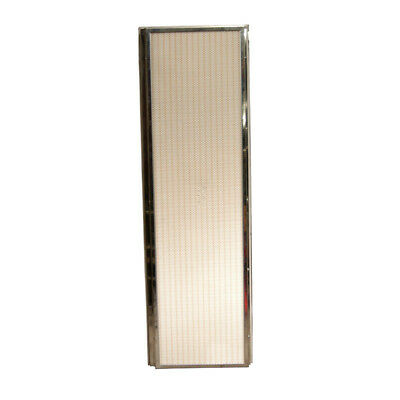 """NEW Stainless Steel 61"""" x 20"""" x 5"""" Clean Room HEPA Panel Air Filter w/ 6 Fans"""