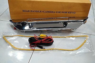 Toyota Hilux Revo 2015 Rear Camera With Chrome Handle Back Tailgate Set