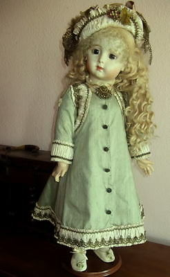 "Pattern For 30"" French Doll Dress ~ Antique Style ~ Amelia"