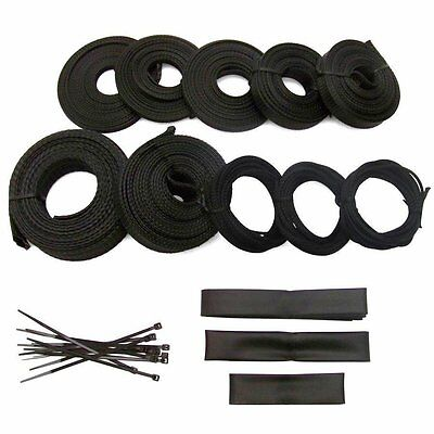 Power Braided Wrap Wire Harness Loom Kit for 67-69 Camaro or Firebird 124ft