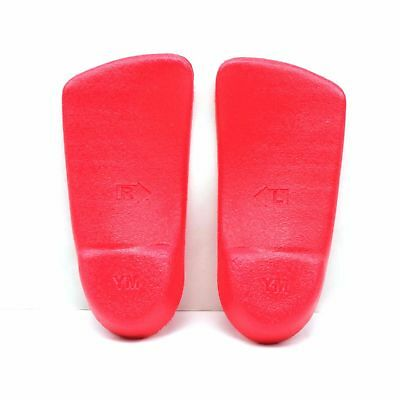 Children Comfort Insoles by Arch Angels, youth Size 2-3, Red, 1 pair