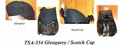 Civil War Style GLENGARRY/SCOTTISH CAP  PATTERN Timeless Stitches TSA-554