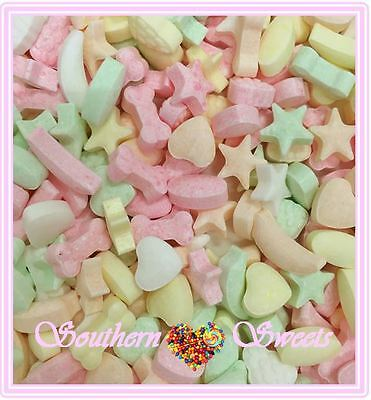 1Kg Mini Pastel Fruits Fizzy Fruits Pastel Lollies In Assort Shapes 2000Ct