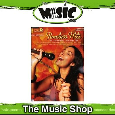 New Timeless Hits Pro Vocal Women's Book & CD - Volume 47