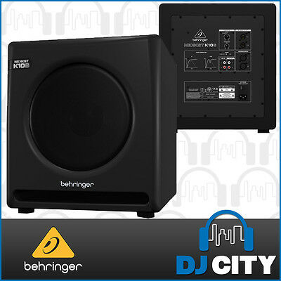 Behringer K10S Active Powered 10 Inch Studio Subwoofer 300 Watts