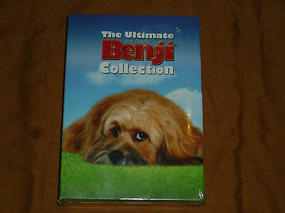 The Ultimate Benji Collection - 3 Pack (DVD, 2005, 3-Disc Set) NEW & SEALED!
