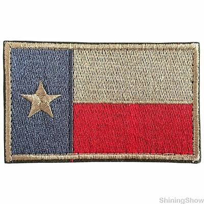 State of Texas Tactical TX Flag Morale Patch USA Army Military  SWAT Badge