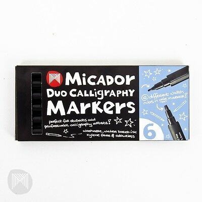 Micador Duo Calligraphy Markers