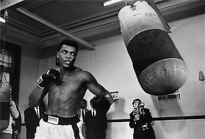 "Muhammad Ali The World's Greatest Boxer Art Print Wall Poster 36""x24""  003"