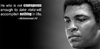 "Muhammad Ali The World's Greatest Boxer Art Print Wall Poster 48""x24""  046"
