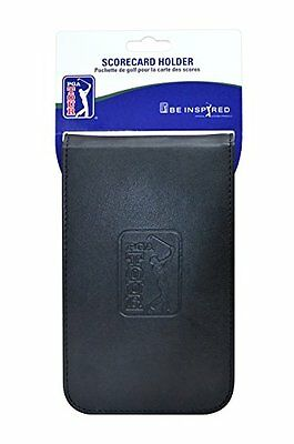 Pga Tour Score Card Holder Black Training Sporting Goods Fitness Strength New U