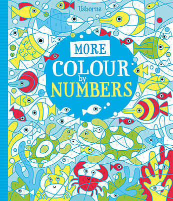 More Colour By Numbers Paperback None Usborne 9781409563464