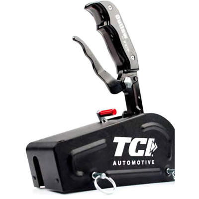 Tci Outlaw Blackout Shifter Tci616331Bl With Cover Suit Gm & Ford 3 Speed Auto T