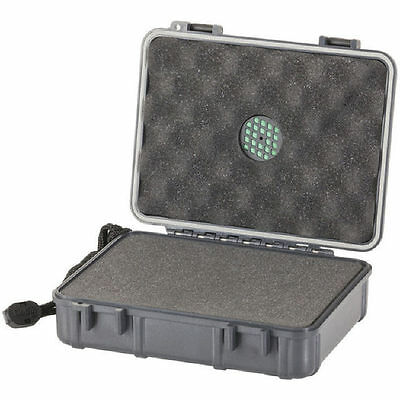NWA ABS Foam Cushioned Instrument Case with Purge Valve Black BRAND NEW