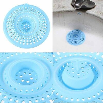 Silicone Hair Catcher Stopper Plug Bath Shower Drain Filter Hair Trap 2-way Use