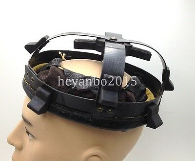 Wwii Ww2 Helmet Liner Uk Mk2 Liner With Leather Chinstrap Shell