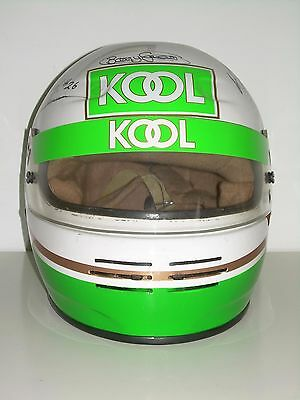 Helmet Race Bell M3 signed by Barry Green and Chris Simmons