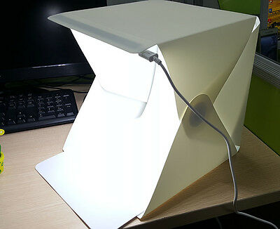 Camera Photo Studio Photography Lighting Tent Kit Mini Backdrop Cube Box