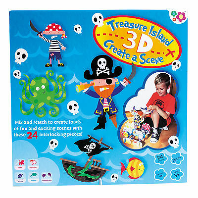 Meadow Kids Treasure Adventure Puzzle And Play Bath Toy (3+ Years)