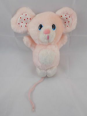 """Russ CANDY Pink Mouse Plush 6"""""""