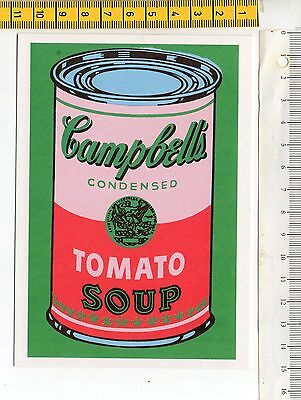 Andy Warhol Campbell/'s Soup Can 1965 green /& red Poster Kunstdruck Bild 36x28cm