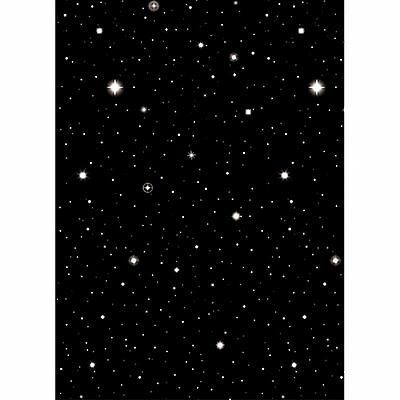 Hollywood Starry Night Sky Scene Setter 40ft / 15.2m Party Wall Decoration BN UK