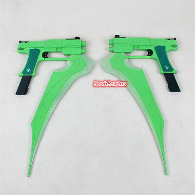 Anime RWBY Lie Ren's Weapon Cosplay Prop PVC Collection Comic-Con Accessory