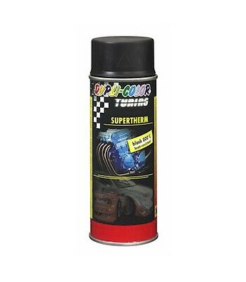 Dupli-Color Supertherm Hitzelack black 800°C 400ml Spraydose schwarz 191794